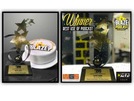 'The Blaze' Podcast Wins award !